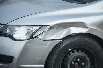 Car Body repair damage